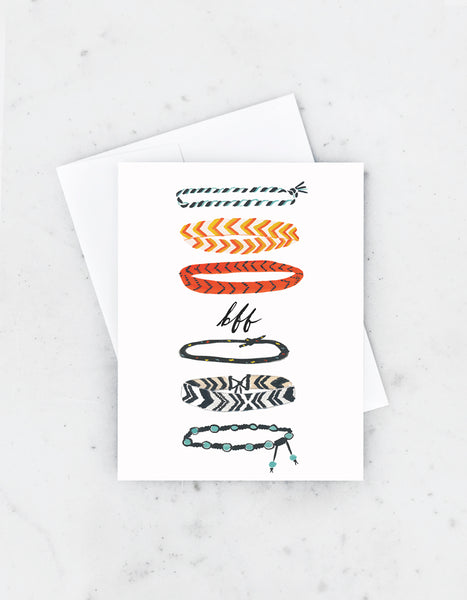 Friendship Bracelet Card