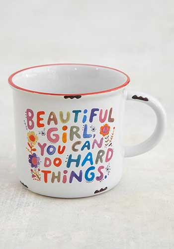 Beautiful Girl Camp Mug