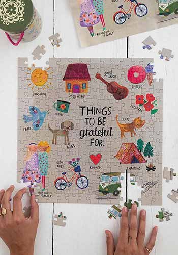 Grateful Chirp Puzzle and Poster