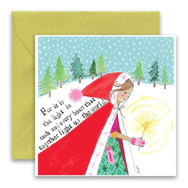 Light The World Holiday Card