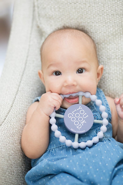Bella Tunno You Look Good Happy Teether