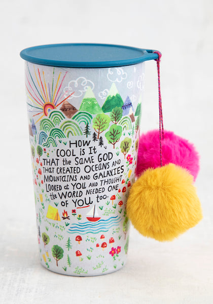 How Cool Is God Pom-Pom Tumbler