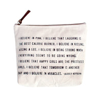 I Believe Canvas Bag