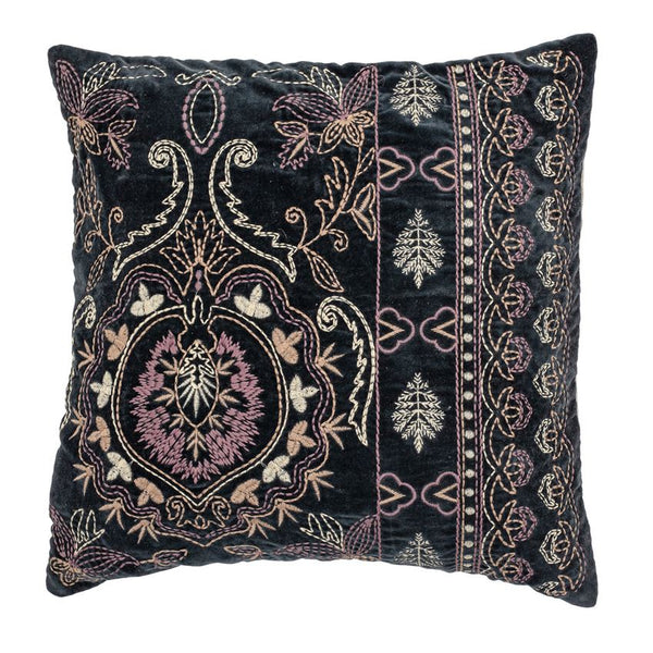 Embroidery Velvet Pillow