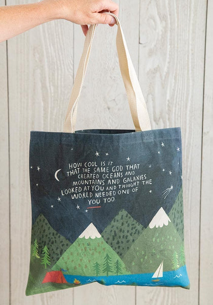 How Cool is God Canvas Tote