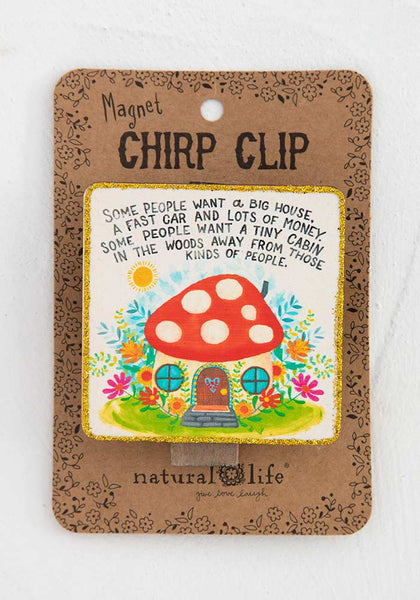 Cabin in the Woods Chirp Magnet Clip