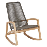 Woven Rope Rocking Chair