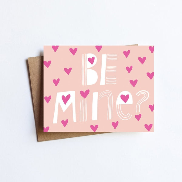 Be Mine Valentine Card