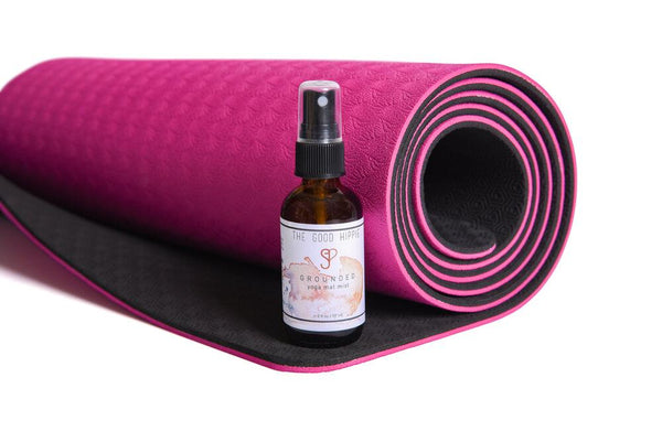 Grounded Yoga Mat Spray