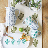 Cactus Table Runner