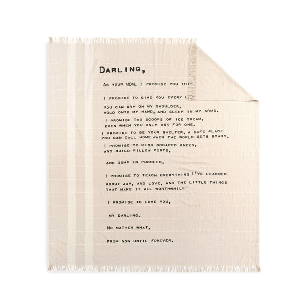 Dear You Blanket - Darling