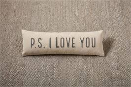 P.S. I Love You Long Pillow