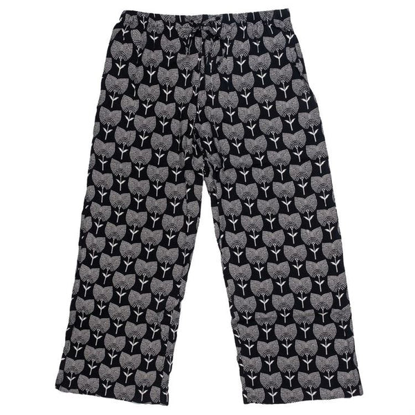 Black Tulip Lounge Pants