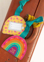 Follow Your Dreams Rainbow Luggage Tag
