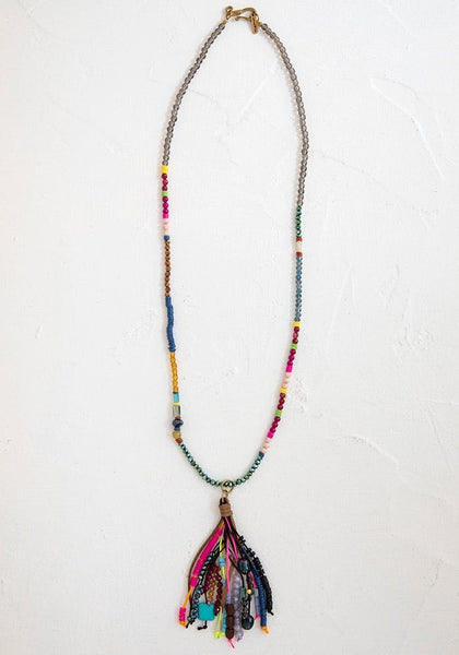 Boho Tassle Necklace