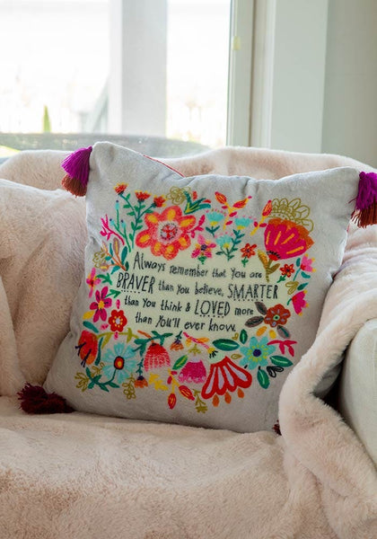 Always Remember Cozy Chirp Pillow