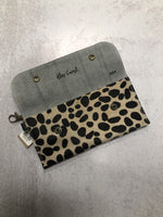 Cheetah Leather Wallet