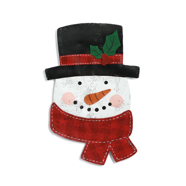 Jolly Snowman Door Hanger