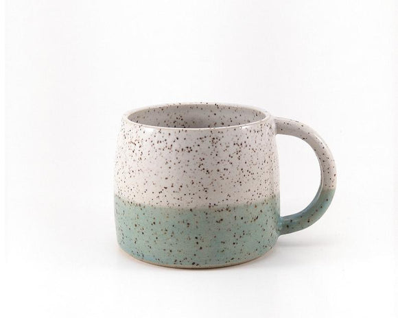 Mint Speckled Mug