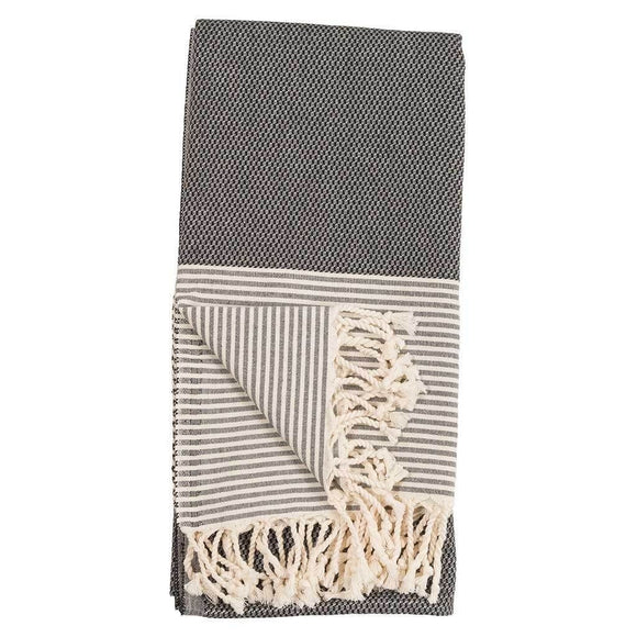 Patek Turkish Towel - Black