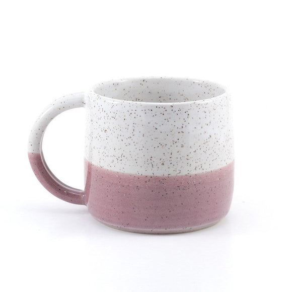 Plum Speckled Mug