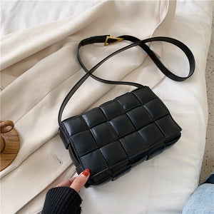 Cassette leather crossbody bag