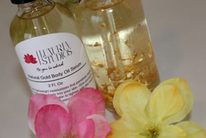 Natural Gold Body Oil