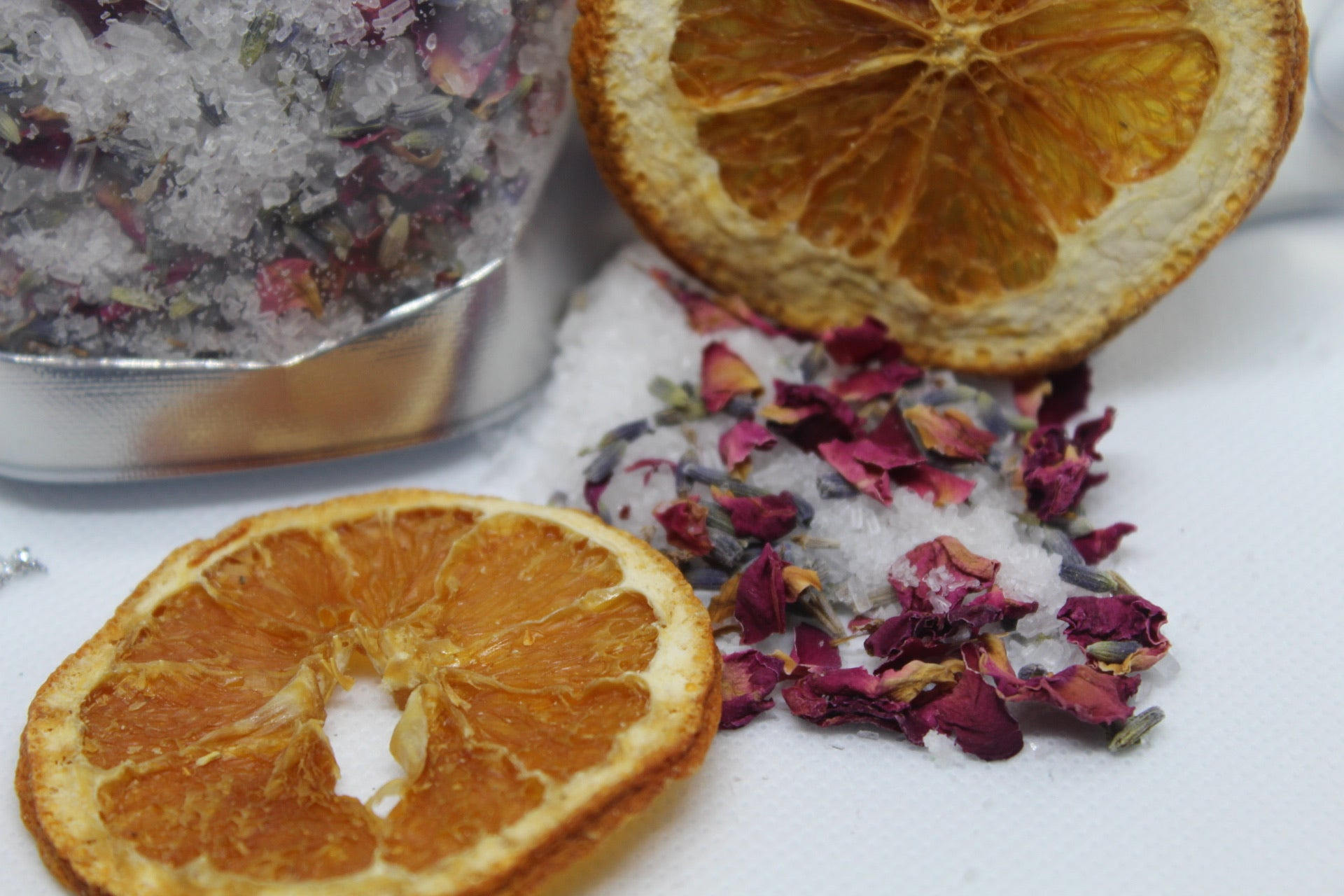 Citrus Rose Lavender Bath Salts