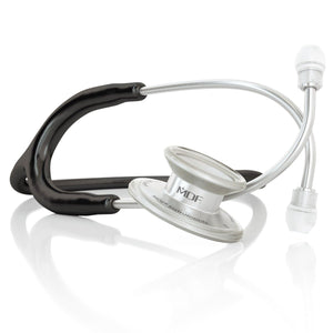 MDF® MD One® Stainless Steel Dual Head Stethoscope (MDF777) - ブラック (ノワールノワール)
