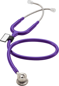 MDF® MD One® Stainless Steel Premium Dual Head Infant Stethoscope (MDF777I) - パープル (パープルレイン)