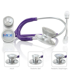 MDF® MD One® Epoch Titanium Stethoscope (MDF777DT) - Purple