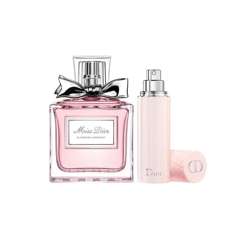 Christian Dior - Miss Dior Blooming Bouquet 淡香水連旅行噴霧套裝 75ml + 15ml - 平行進口 - 同人辦館 Our HK Mall
