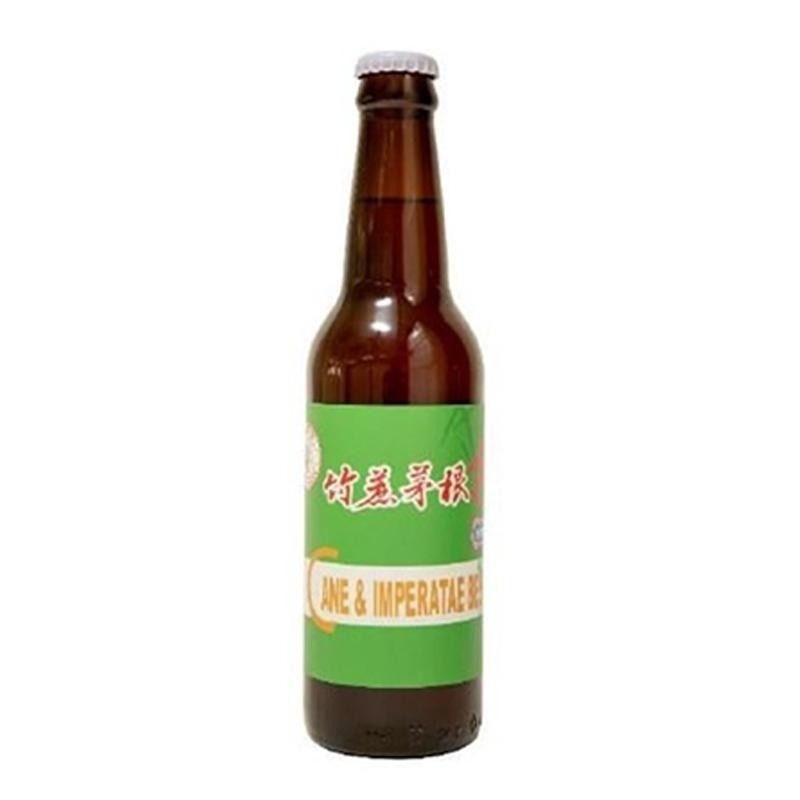 Foam Beer Brewery 瘋啤 - 竹蔗茅根啤 330ml - 同人辦館 Our HK Mall