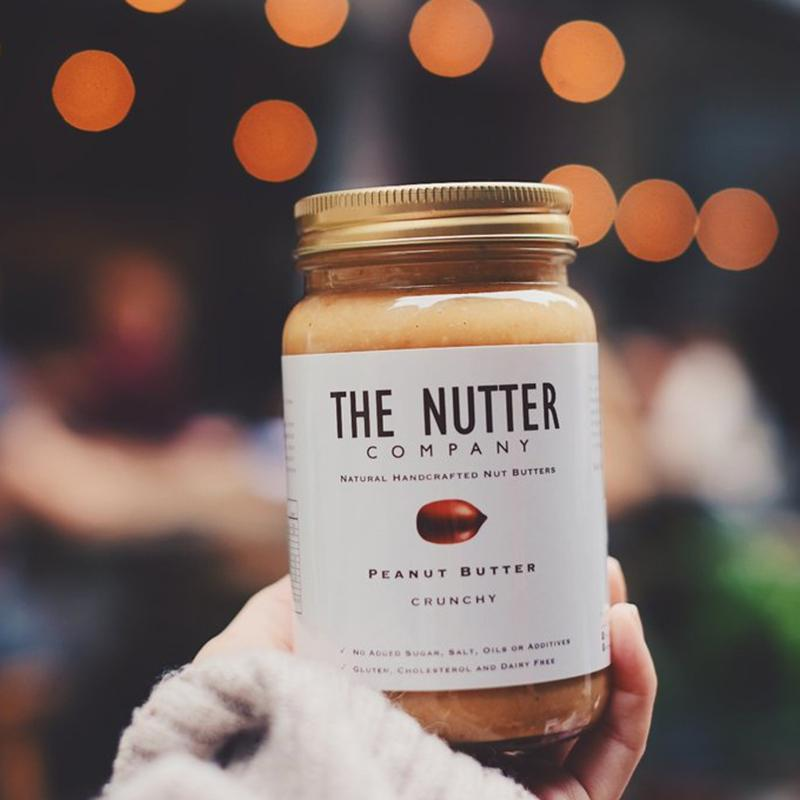 The Nutter Company - Crunchy Peanut Butter 粗粒花生醬 320g - 同人辦館 Our HK Mall
