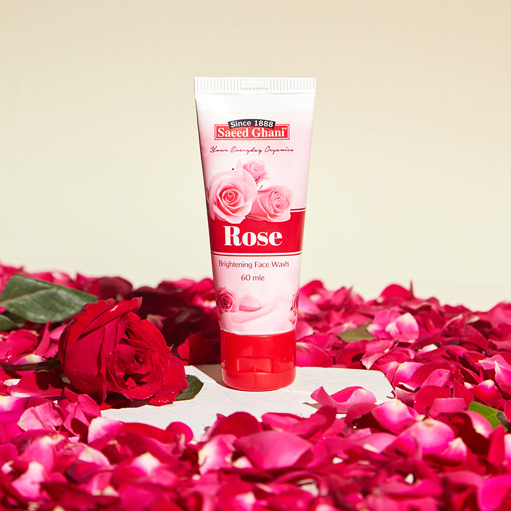 Rose Face Wash Cleansing - Saeed Ghani
