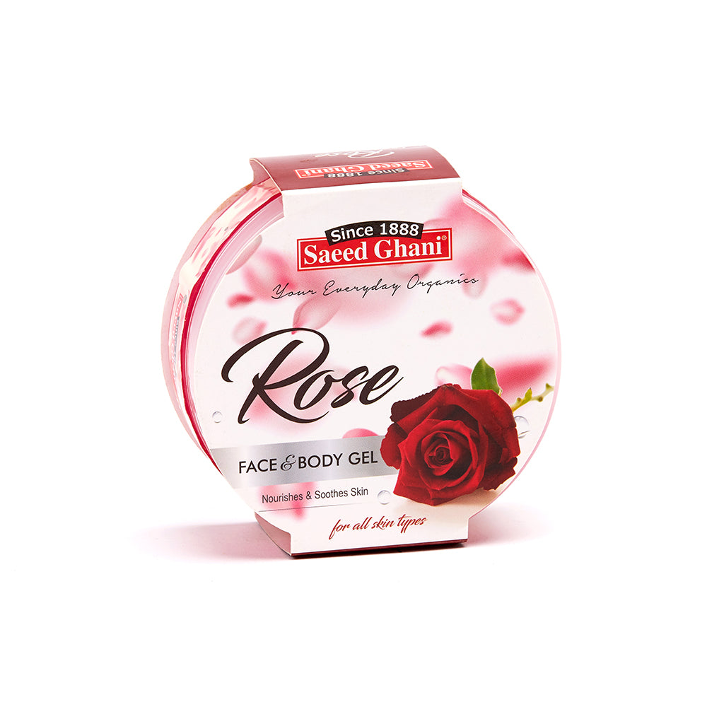 Rose Face & Body Gel - Saeed Ghani