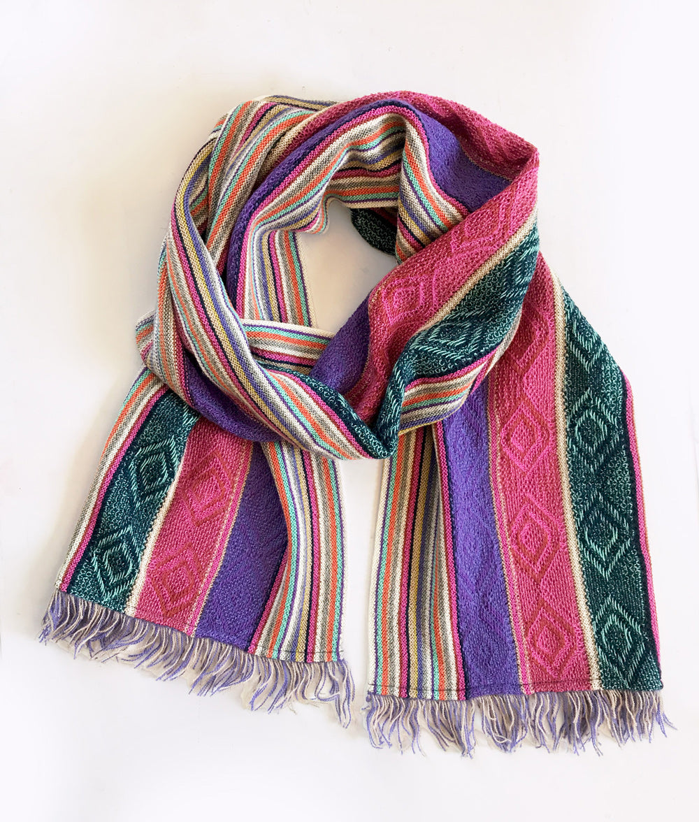 Lightweight Fringed Scarf