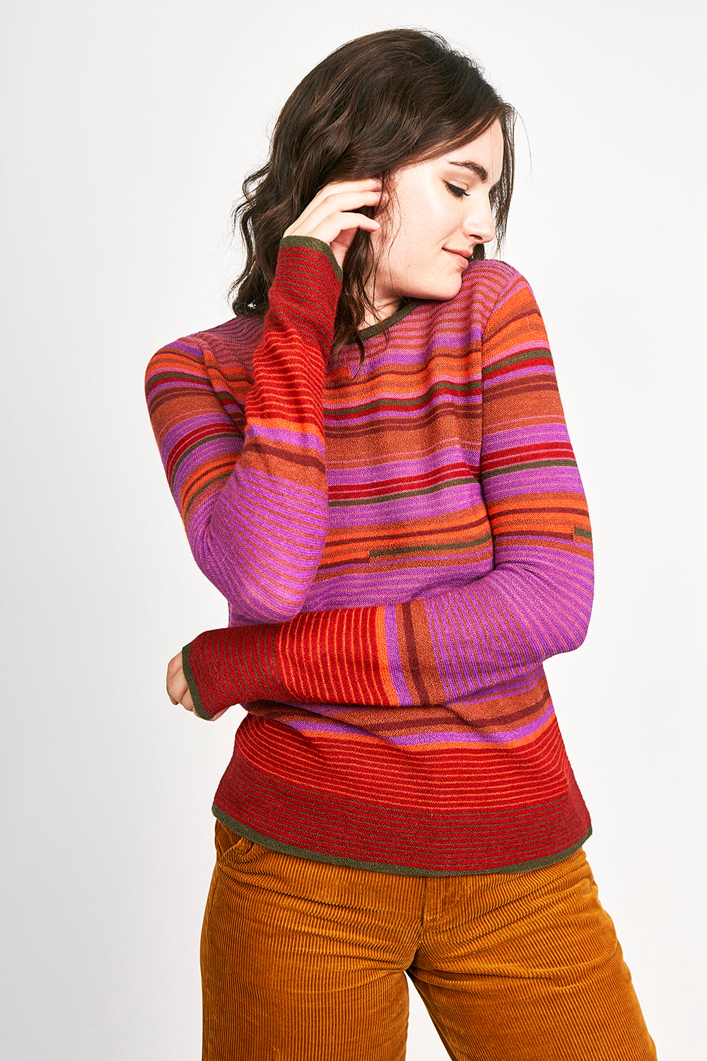 Broken Lines Sweater