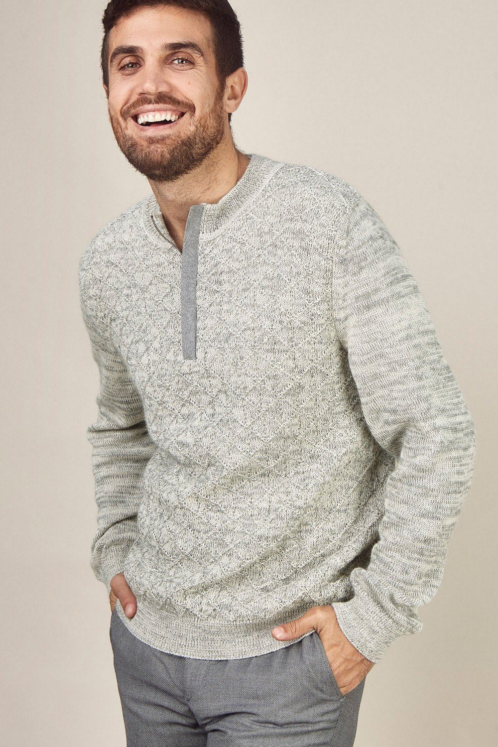Half-Zip Ramsey Sweater