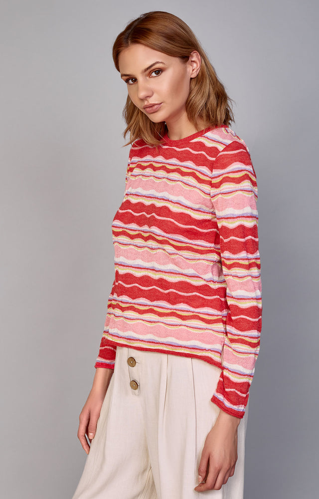 The Floated Pullover