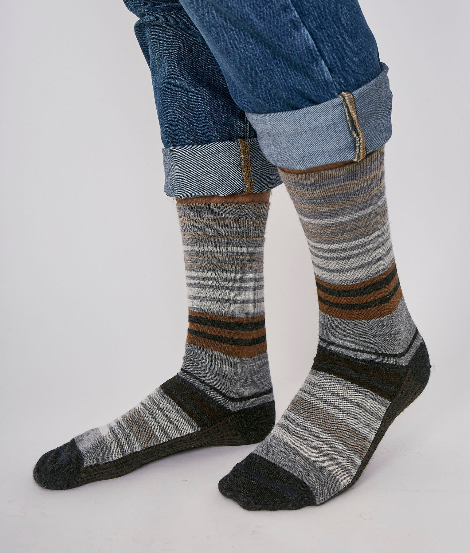 WANDERLUST VINICUNCA LINES MEN LONG SOCK