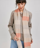 WANDERLUST WIDE STRIPES ESPIGAS SCARF