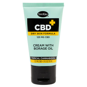 1 oz Travel Size - CBD Cream with Borage - 125mg CBD