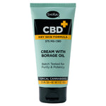 CBD Cream with Borage, 3oz - 375mg CBD