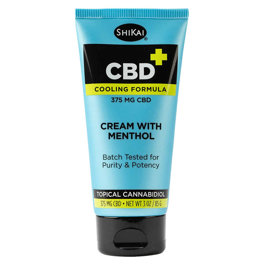 CBD Cream with Menthol, 3 oz - 375mg CBD