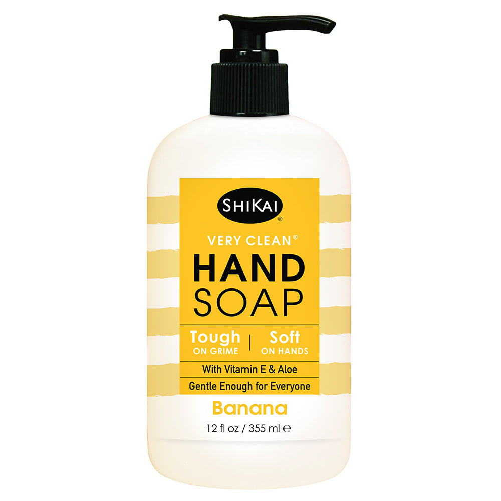 NEW! Very Clean Liquid Hand Soap - Banana