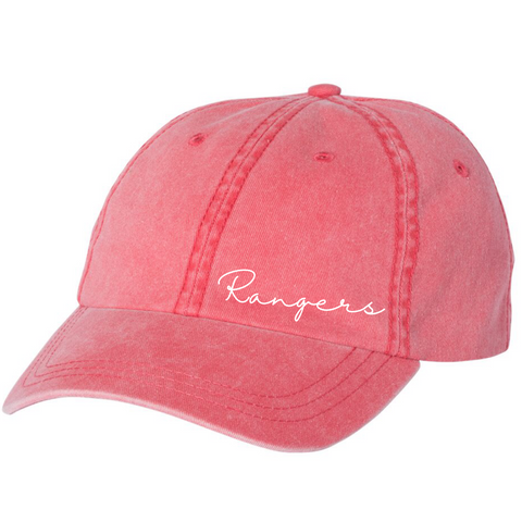 Local School Collection - RANGERS - Embroidered Hat PREORDER
