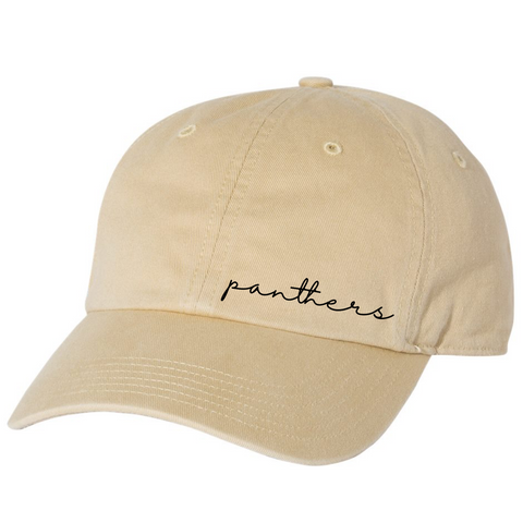 Local School Collection - LATTA PANTHERS - Embroidered Hat PREORDER