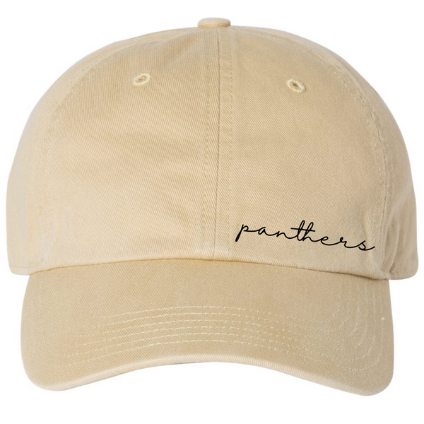 Local School Collection - LATTA PANTHERS - Embroidered Hat