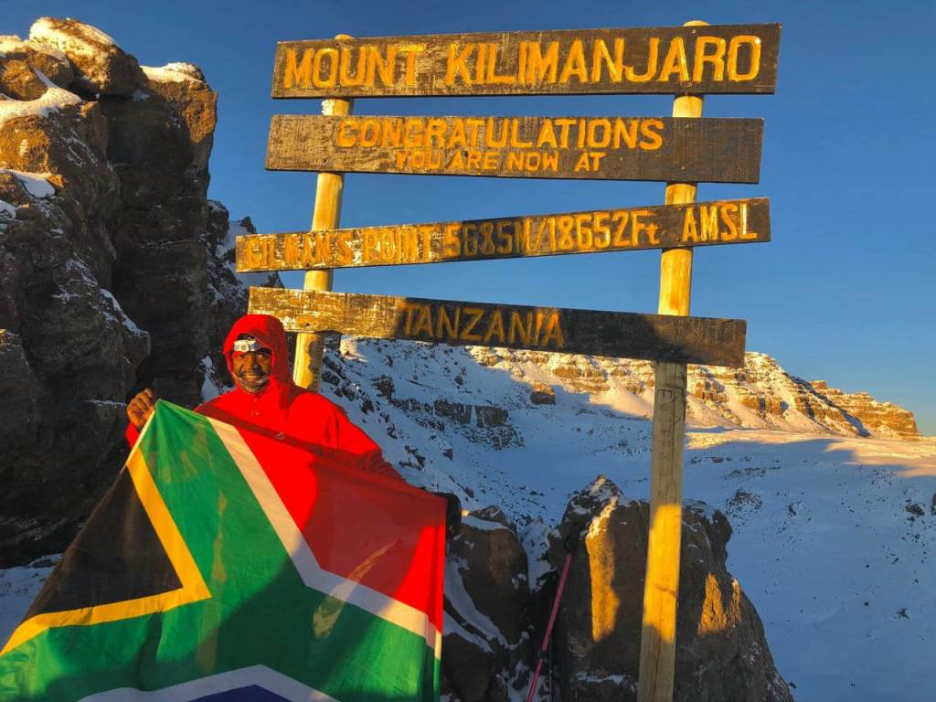 Kilimanjaro in just 12 hours